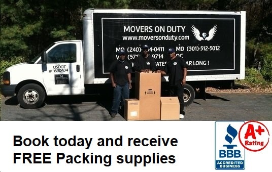 Movers Maryland