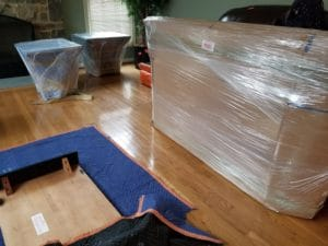 How to protect a tv for moving