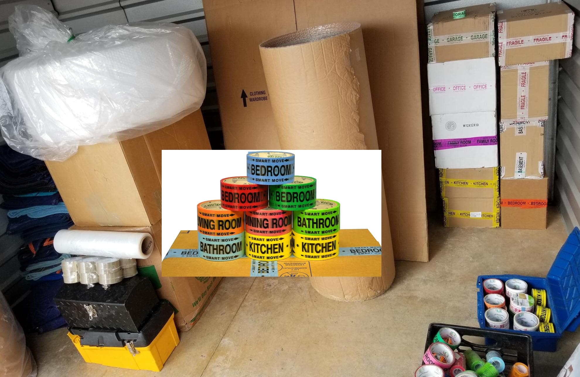 Packing services cost