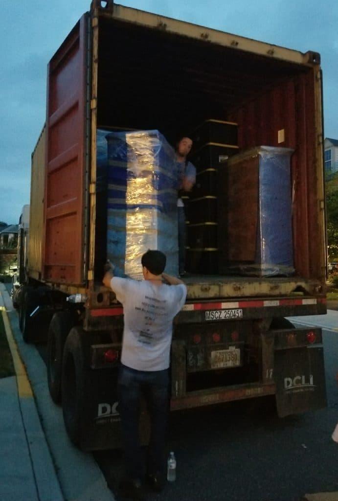 Truck loading help