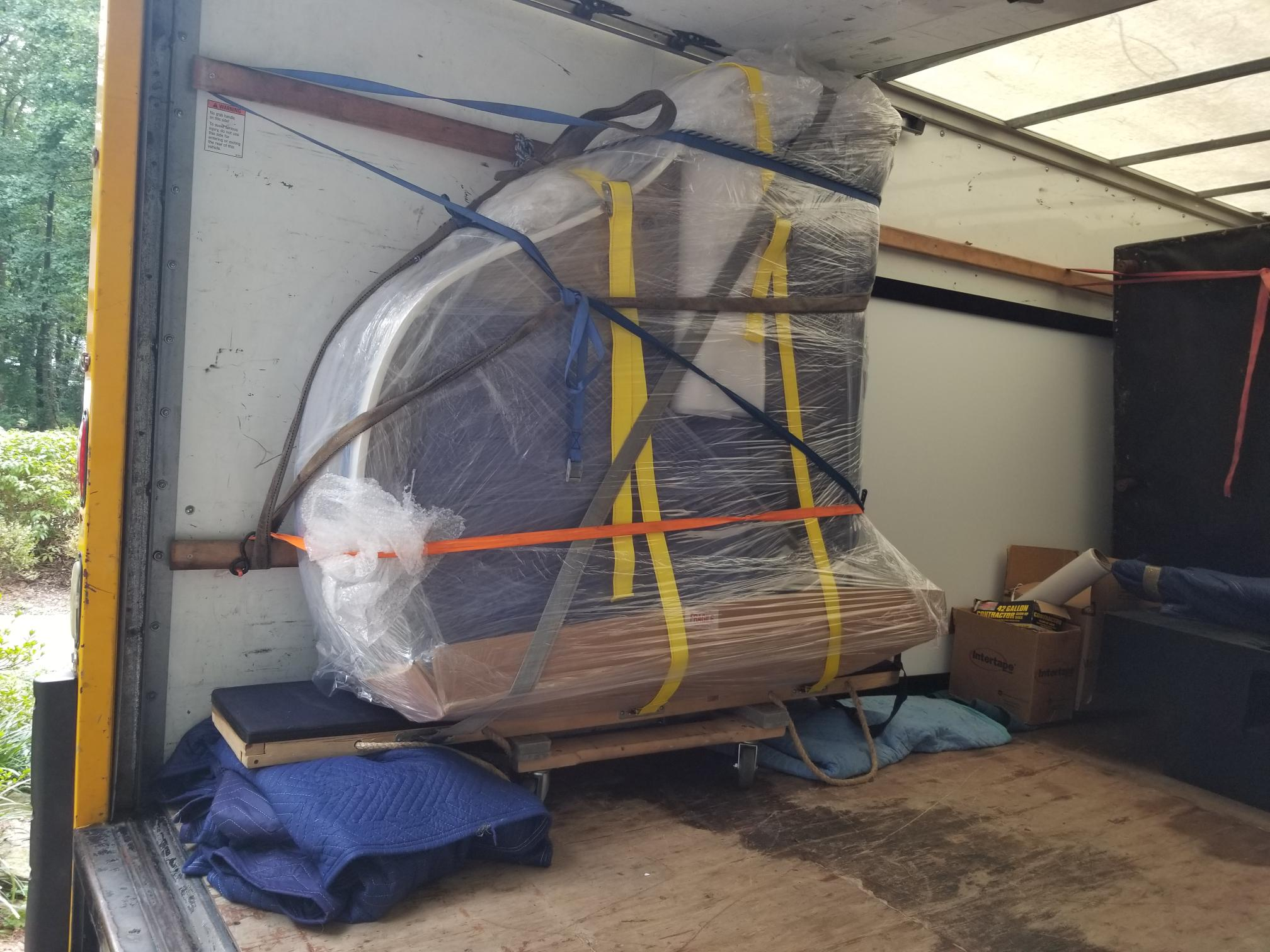 baby grand piano movers
