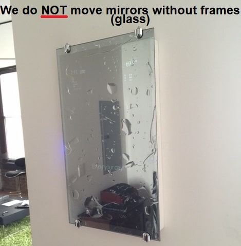 What won't movers move