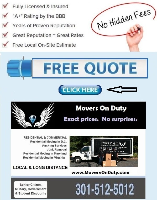 Moving companies centreville