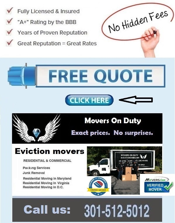 Eviction movers maryland
