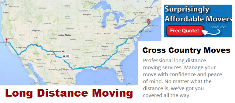 long distance moving companies gaithersburg